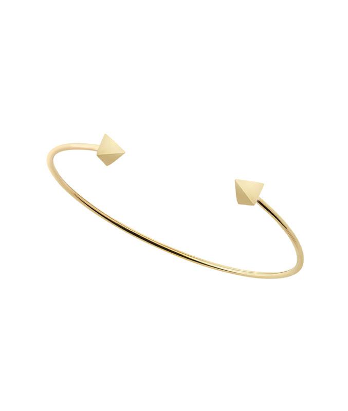 bracciale rigido in oro giallo