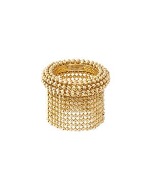 anello con frangia corta di catene