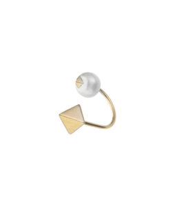 Orecchino piccolo con perla naturale