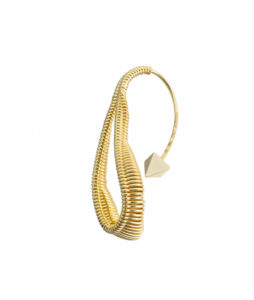 orecchino a goccia in oro
