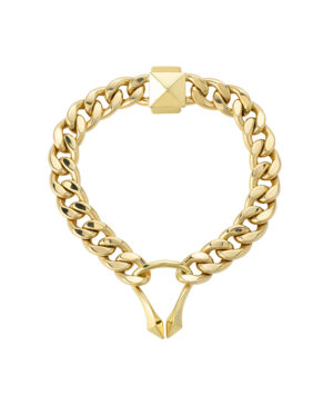 bracciale con catena in oro