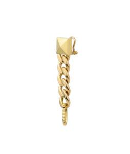 orecchino in oro giallo