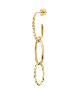 orecchino oro giallo