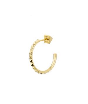 orecchino con mini stud in oro